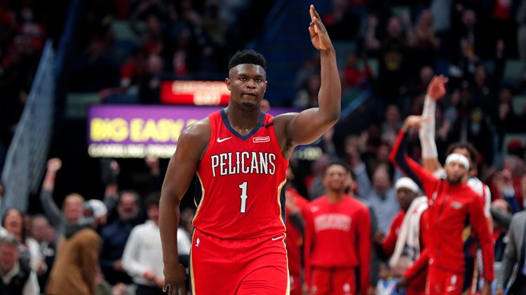 Pelicans Zion Williamson selected to play in 2021 All-Star game
