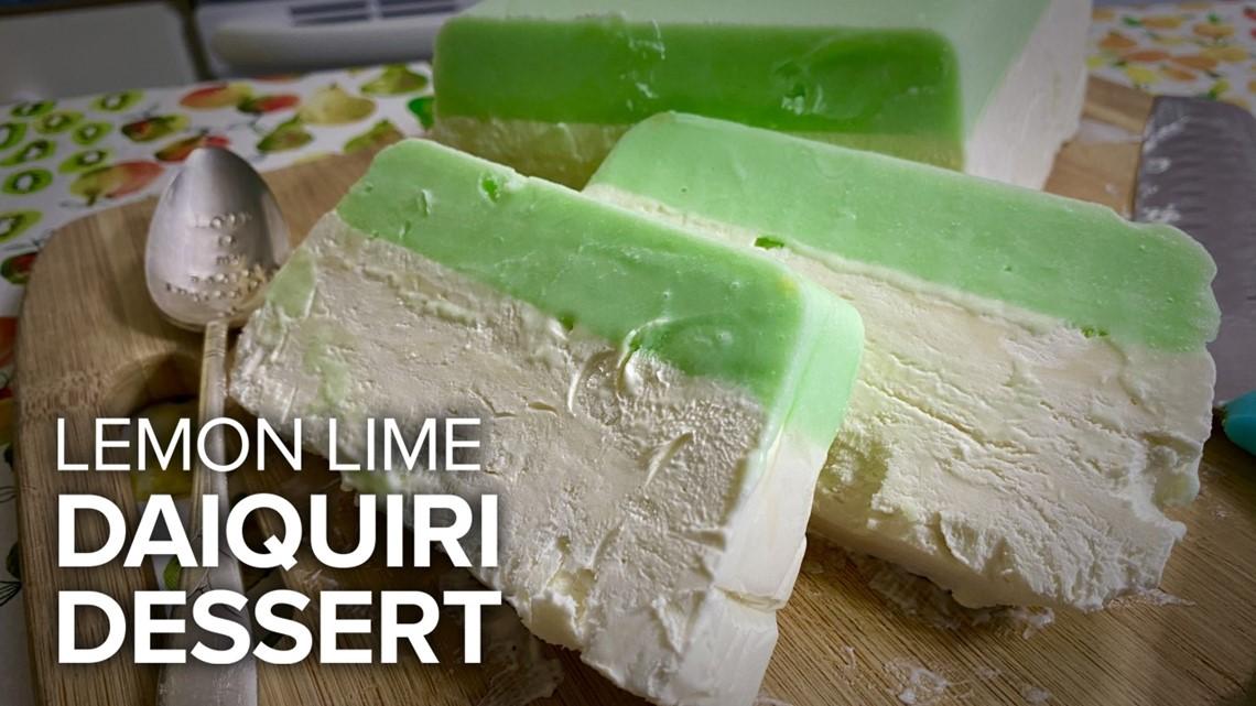 Recipe: Lemon Lime Daiquiri Dessert
