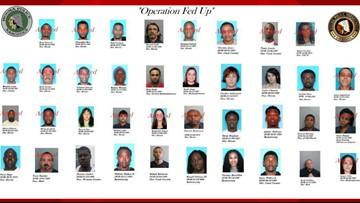 'Operation Fed Up' leads to multiple drug arrests in Terrebonne Parish