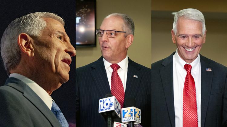 3 Louisiana gubernatorial candidates clash in debate at LSU