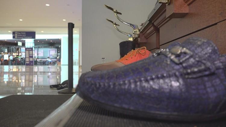 Longtime shoe shiner returns to MSY as travel picks up