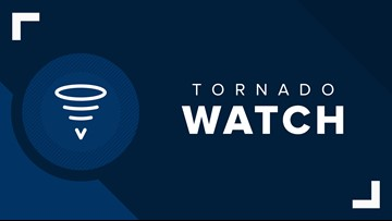 LIVE UPDATES: Tornado Watch remains for parts of Southeast Louisiana