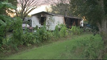 2 children dead, 3 adults injured in Belle Chasse mobile home fire