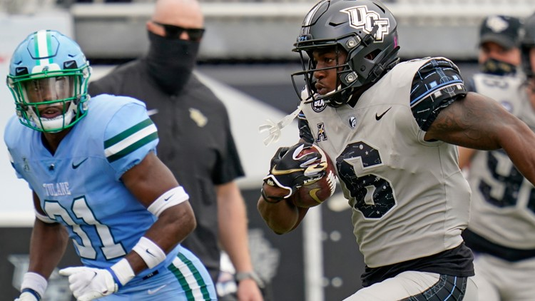 UCF outscores Tulane for 51-34 victory