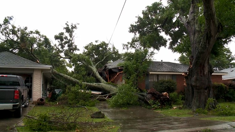 About 5,000 without power as 2nd round of rain set for Wednesday