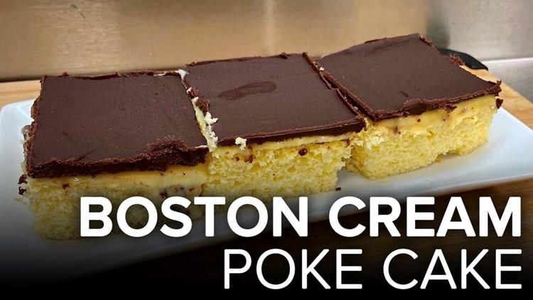 Recipe: Boston Cream Poke Cake