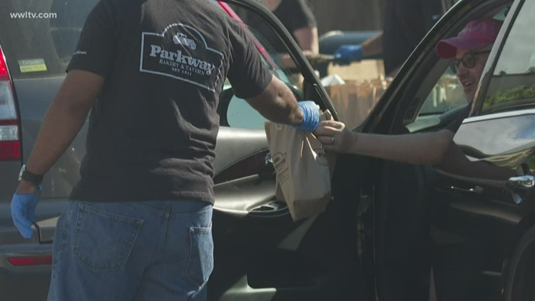 Drive-thru farmers market gets groceries to shoppers while social distancing