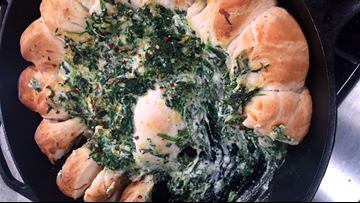 Recipe: Biscuit Spinach Cheese Ring by Chef Kevin Belton