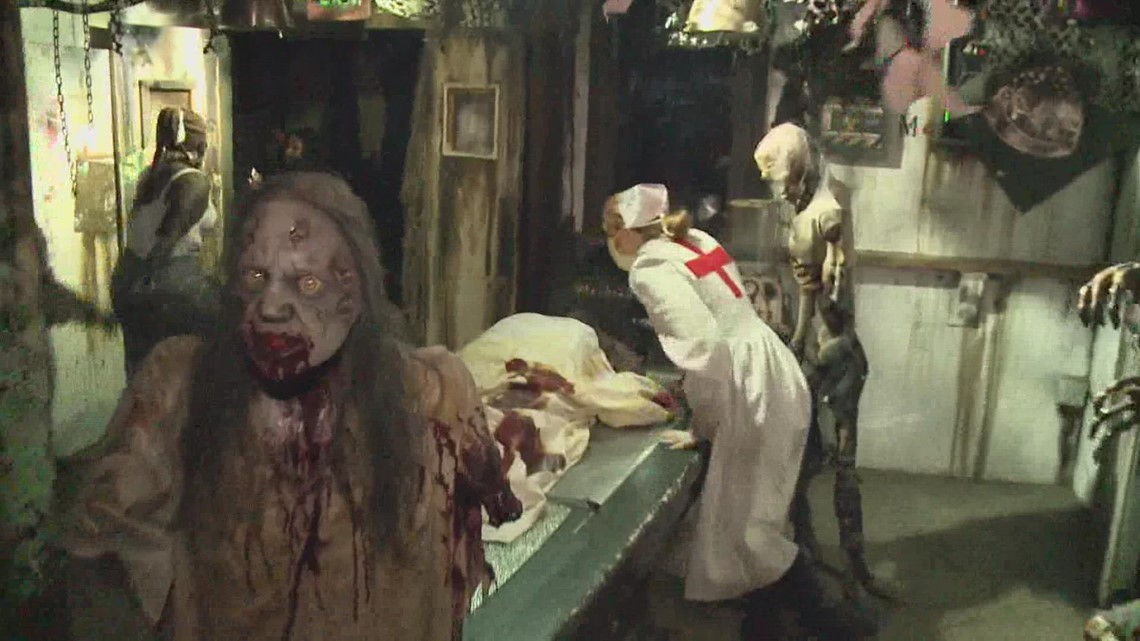 Haunted house opens back up this Halloween