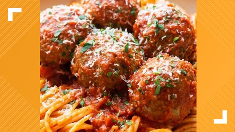 Recipe: Red sauce meatballs