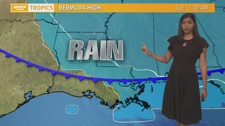 The intense heat continues today before a cold front moves in tomorrow