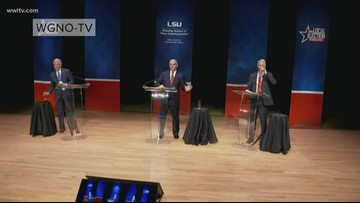 Candidates in Louisiana governor's race spar over economy