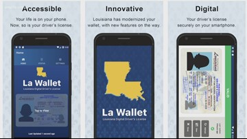 New app puts your Louisiana driver's license on your phone