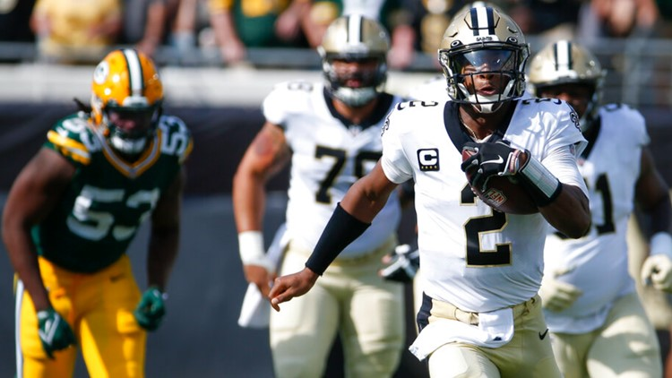 New Orleans Saints, Jameis Winston maul Green Bay Packers 38-3