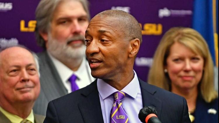 LSU picks new leader, naming system's first Black president