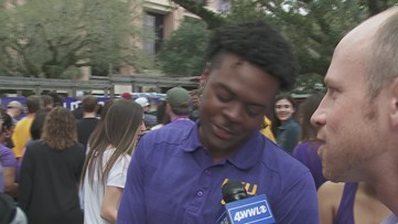 Tigers parade through LSU campus, bring National Championship trophy