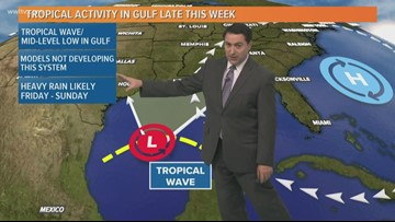Weather Expert Forecast Thursday Noon Update - hot with fewer storms today