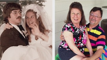 Couple celebrating 50th anniversary lose wedding album in New Orleans carjacking