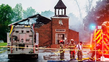 After Notre Dame, support for torched Louisiana churches swells