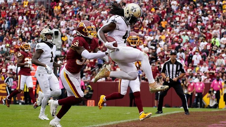 Saints top Washington 33-22