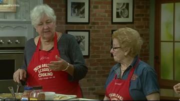 NOLA Grandmas: Crawfish Stuffed Pasta Shells