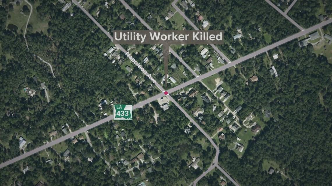 Drunk driver kills utility worker making repairs after Hurricane Ida: LSP