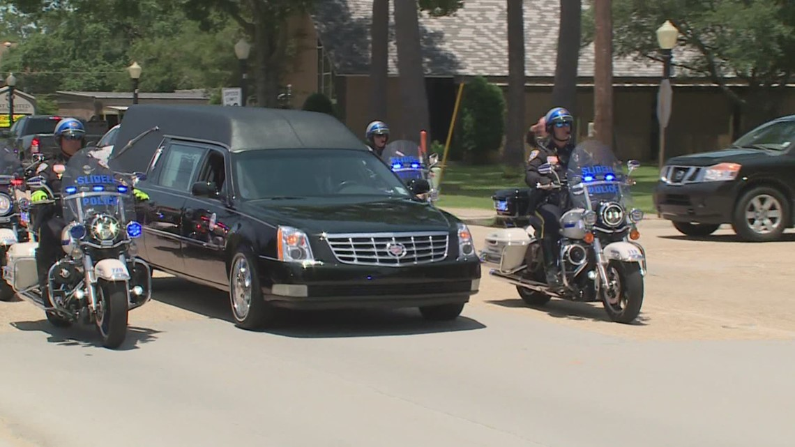 Slidell Police Department mourns the loss of the Sgt. Theresa Simon