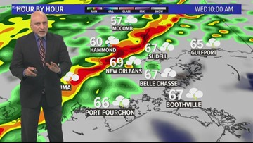 Pinpoint Forecast: Rain Wednesday and a cool-down