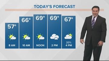 Monday Morning November 19th Pinpoint Forecast