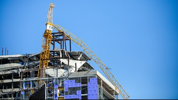 Cantrell: New Orleans spending $400K a day on Hard Rock Hotel collapse
