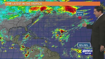 Tropics are quiet as last month of hurricane season beings