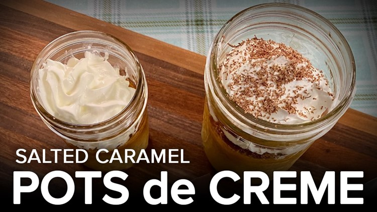 Recipe: Chef Kevin Belton's Pots de Creme with Salted Caramel
