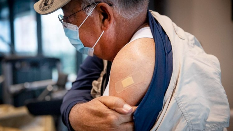 More than 1 million people in Louisiana have been vaccinated against COVID-19