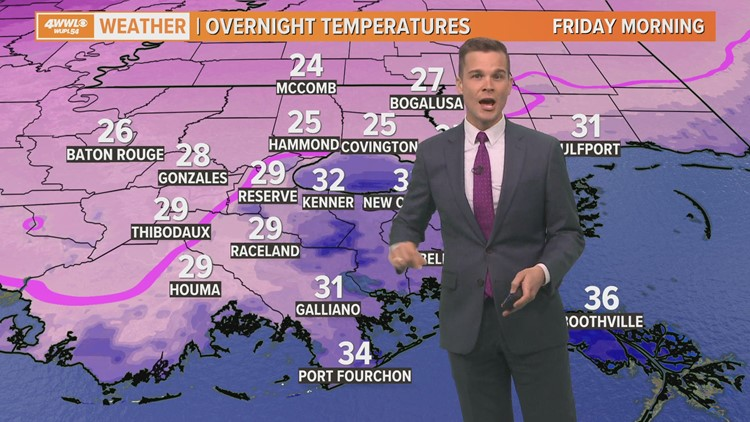 Cold, cloudy and Windy Thursday; freeze for most tonight