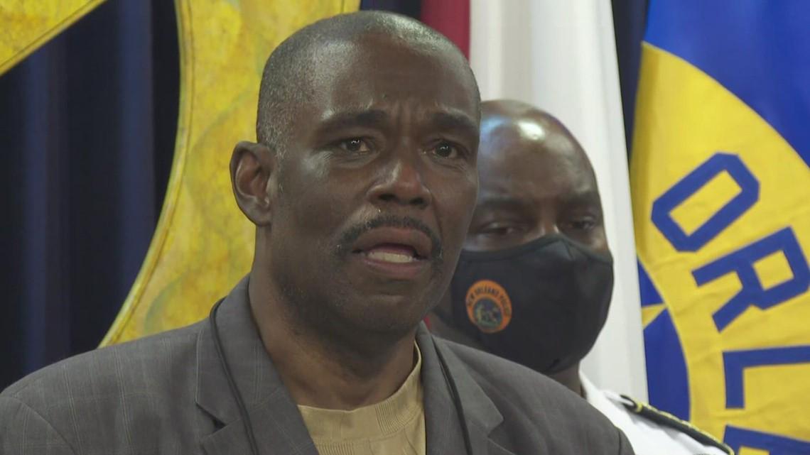 Councilman Jay Banks breaks down talking about loss of friend