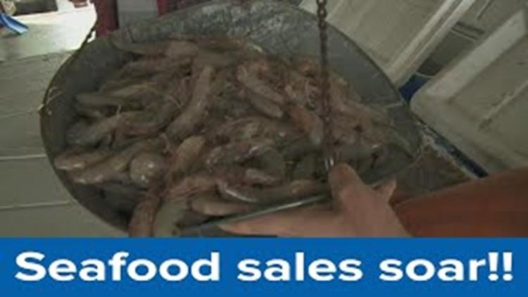 Seafood sales soar despite pandemic