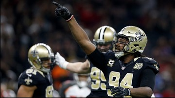 Cam Jordan, Saints reach deal on 3-year contract extension