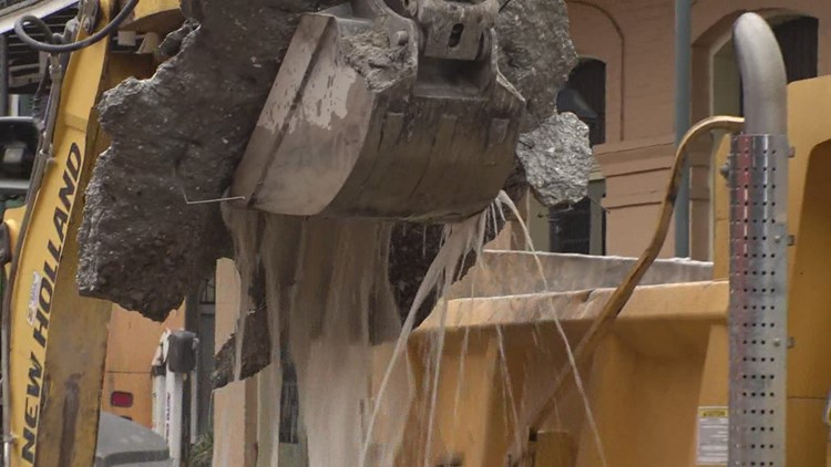 S&WB repairing more broken water mains than usual after freezing weather