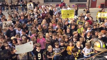 Saints fever takes New Orleans ahead of Sunday's game