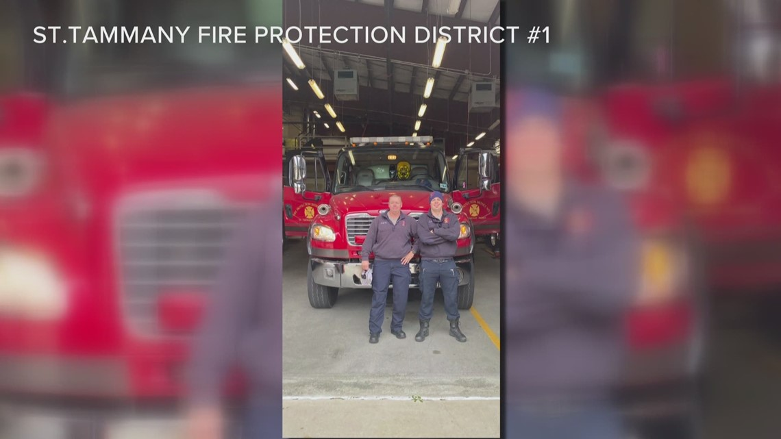 St. Tammany Parish firefighters helping north Louisiana after winter storm