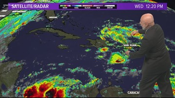 Tropical Update 5pm Wednesday
