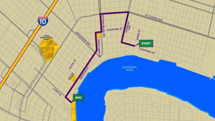 Chewbacchus 2020 Correct Route