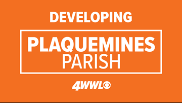 Search on after suspect steals car from Plaquemines Parish courthouse