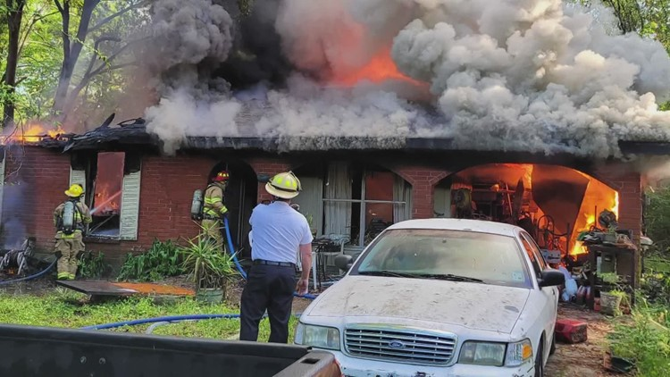 Man killed in Slidell house fire that caused oxygen tanks to explode