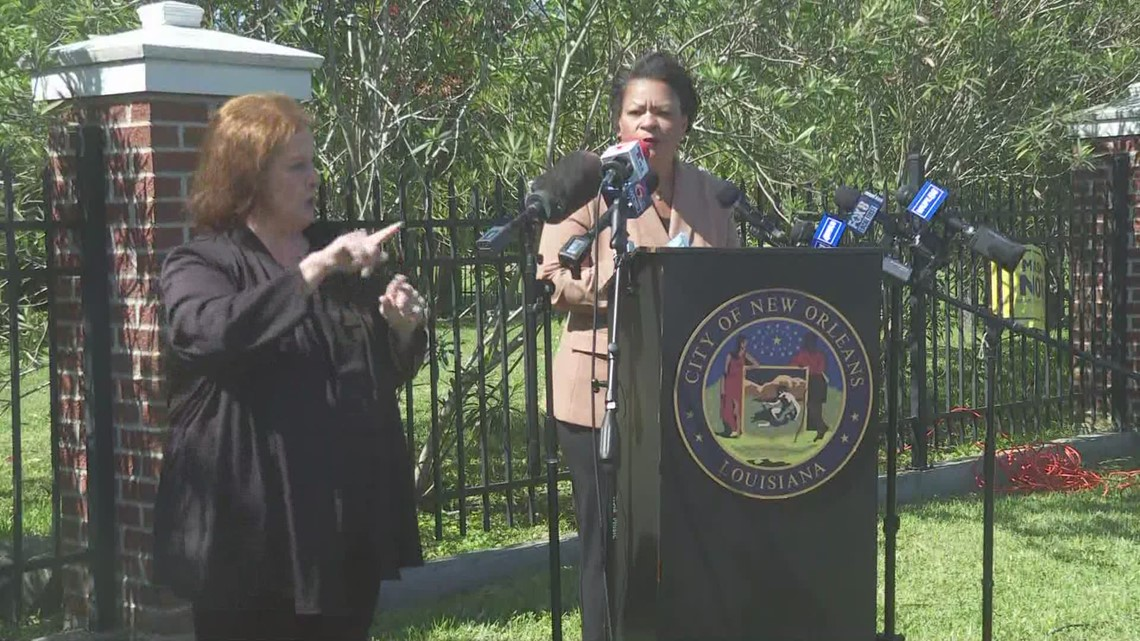New Orleans Mayor LaToya Cantrell says she plans to run for re-election
