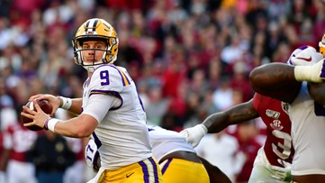 Burrow, Edwards-Helaire named SEC Offensive Players of the Week