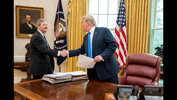 Sen. Kennedy meets with Trump about 'duplication of benefits' issue facing 2016 flood victims