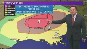 Weather Expert Forecast: Some strong to severe storms this weekend