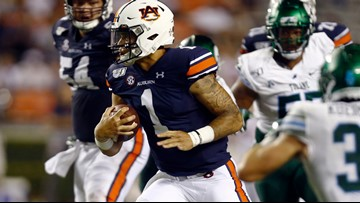 Tulane slows No. 10 Auburn, but Tigers win 24-6 over Tulane