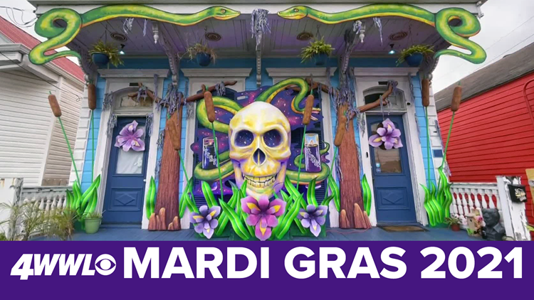 Mardi Gras in New Orleans 2021